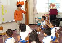 写真:手話教室の様子