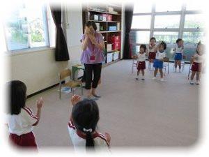 ♪English Play♪~たんぽぽ組(3歳児)~ ~朝和保育園~