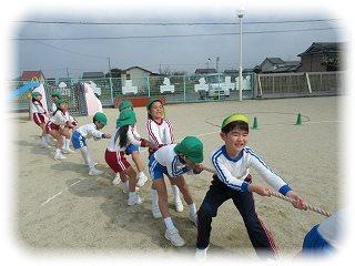 お別れゲーム大会‼ まつ組(5歳児) ~朝和保育園~