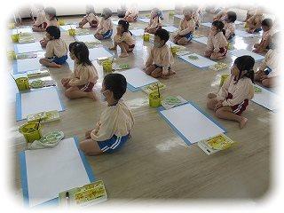 絵画教室 ~朝和保育園~