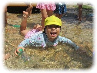 ♪水遊び♪ ~朝和保育園~