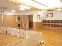 ひよこ組(0歳)保育室