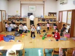 ばら組(1歳)保育室;