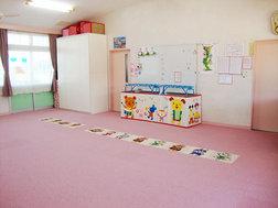 あさがお組(1歳)保育室