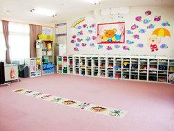 ちゅうりっぷ組(3歳)保育室